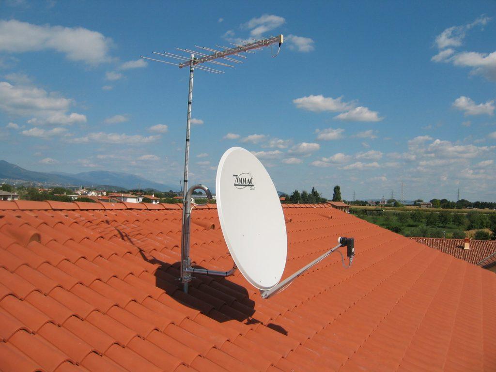 antenna TV e satellite